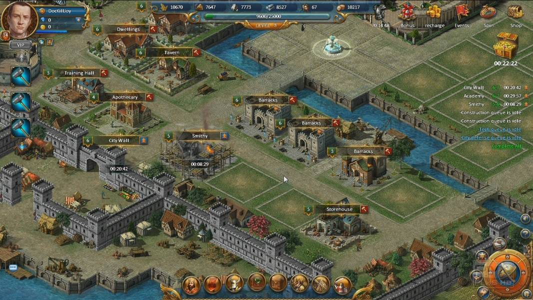 the age of discovery games sport