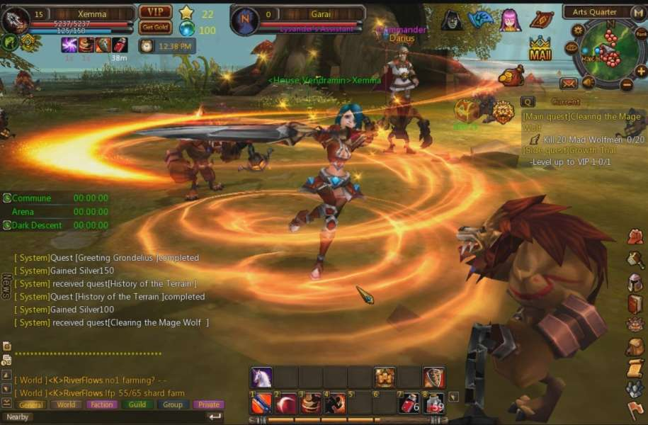 Browsergames Multiplayer Online