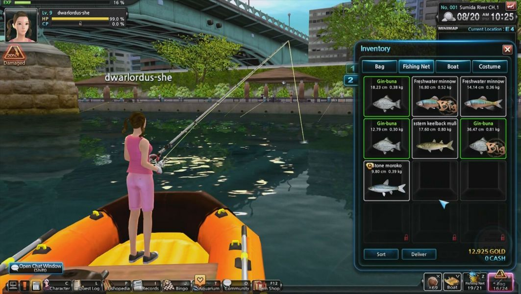 world tour fishing